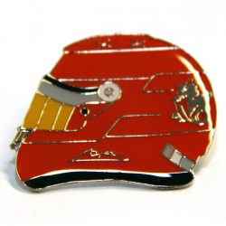 2015, Red, Schumacher Helmet brooch