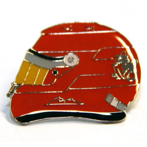 Schumacher Helmet brooch, Red, 2015 - FansBRANDS