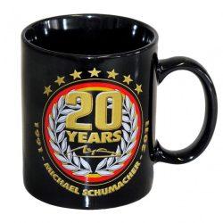 2015, Black, 300 ml, Schumacher 20th Anniversary Mug