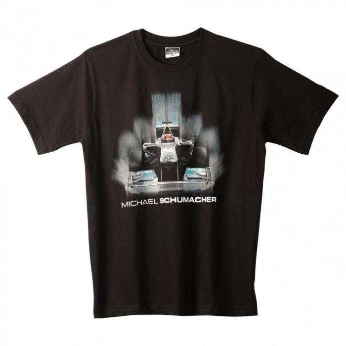 2015, Black, M, Schumacher Round Neck T-shirt