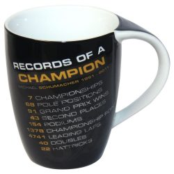 2015, Black, 300 ml, Schumacher Record Mug