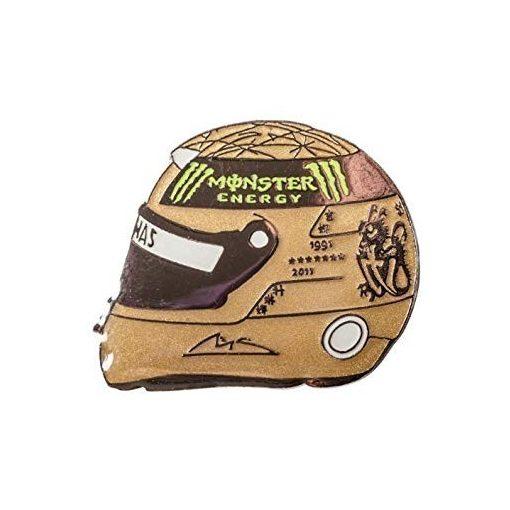 Schumacher 2012 helmet brooch, Yellow, 2015 - FansBRANDS