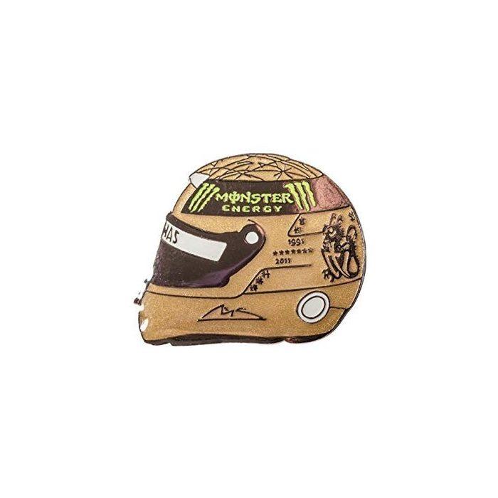 2015, Gold, Schumacher 2012 helmet brooch