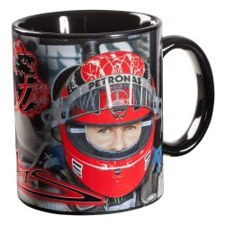 2015, Black, 300 ml, Schumacher Helmet Mug