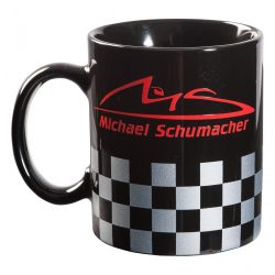 2015, Black, 300 ml, Schumacher Chequered Mug