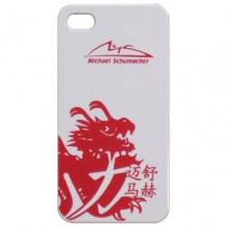 2015, White, iPhone 5, Schumacher Logo Phone Case