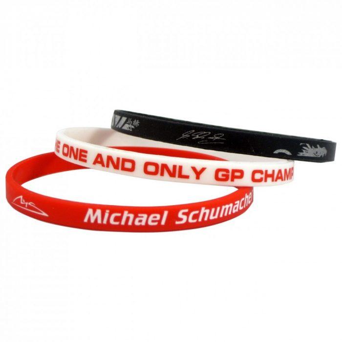 2015, Red, Schumacher Gumi Bracelet set