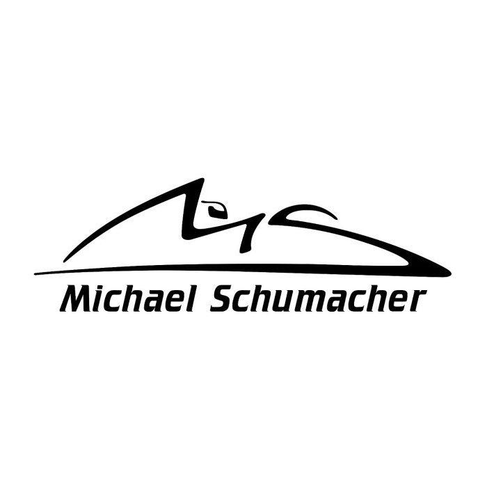 2015, Black, Schumacher Logo sticker
