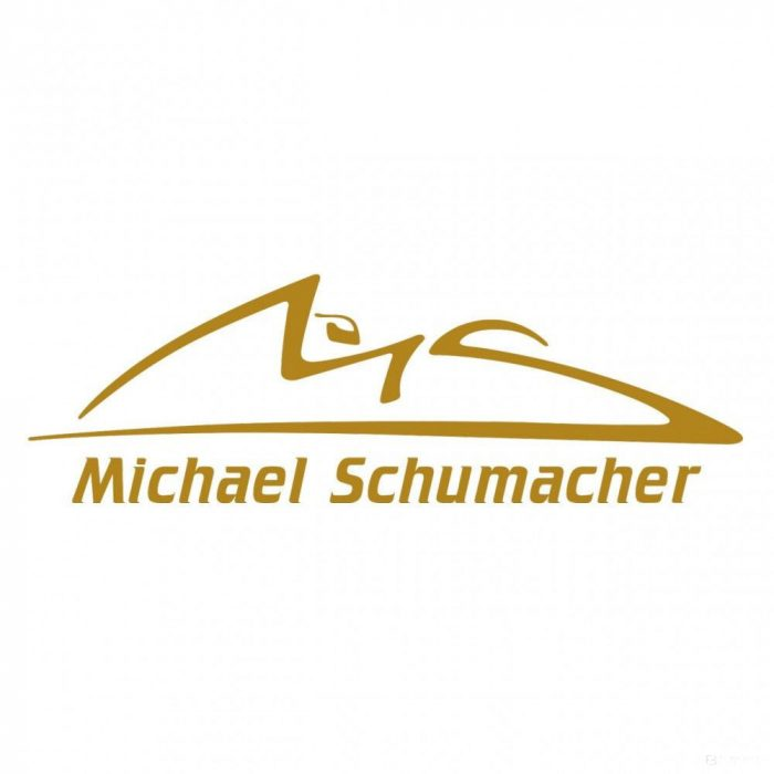 2015, Gold, Schumacher Logo sticker