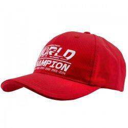 2018, Red, Adult, Schumacher World Champion Baseball Cap