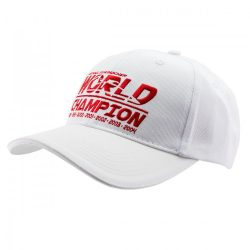 2018, White, Adult, Schumacher World Champion Baseball Cap