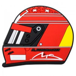 2018, Red, Schumacher Helmet 2000 Fridge magnet