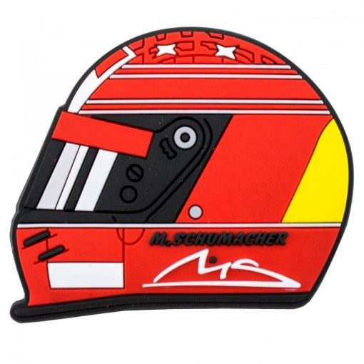 Schumacher Helmet 2000 Fridge magnet, Red, 2018 - FansBRANDS