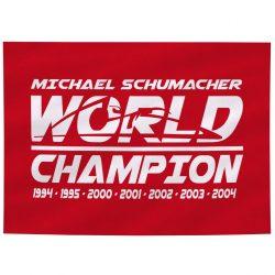 2018, Red, Schumacher World Champion Flag