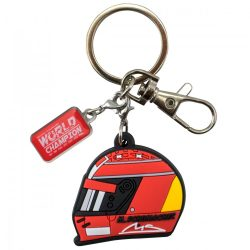 2018, Red, Schumacher Helmet 2000 Keyring