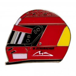 2018, Red, Schumacher Helmet 2000 Pin