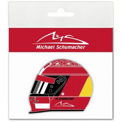 2018, Red, Schumacher Helmet 2000 Sticker