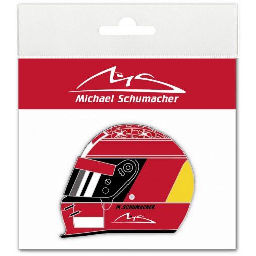 2018, Red, Schumacher Helmet 2000 Sticker