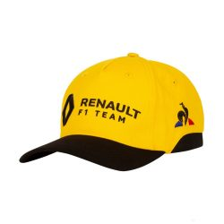 2019, Black, Adult, Renault Team Baseball Cap