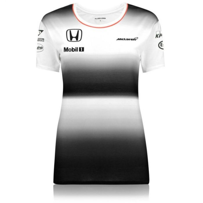 2017, Black, S, MCL Alonso Round Neck Womens T-shirt