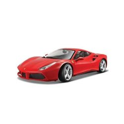2018, Red, 1:43, Ferrari Ferrari 488 GTB Model car
