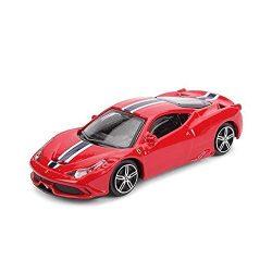 2018, Red, 1:43, Ferrari Ferrari 458 Speciale Model car