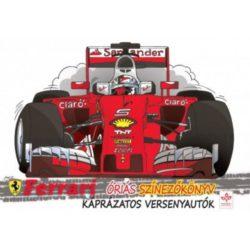 Ferrari óriás színezőkönyv - Könyv