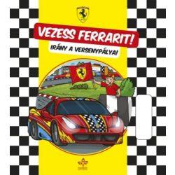 Vezess Ferrarit! Irány a versenypálya - Könyv