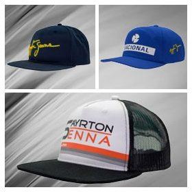 Ayrton Senna Flatbrim Cap