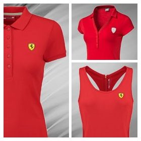 Ferrari T-Shirt Womens