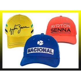 Ayrton Senna Cap