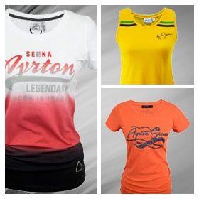 Ayrton Senna T-Shirt Womens