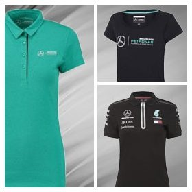 Mercedes Womens T-Shirt