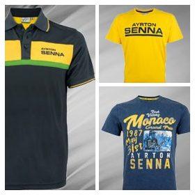 Ayrton Senna T-Shirt Mens