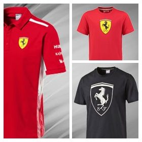 Ferrari T-Shirt Mens