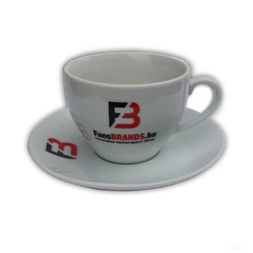 FansBRANDS Tea Cup, White, 2 pcs
