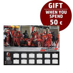 Ferrari Race calendar gift
