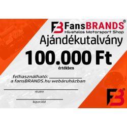 Ajándékutalvány 100000Ft
