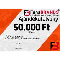 Ajándékutalvány 50000Ft