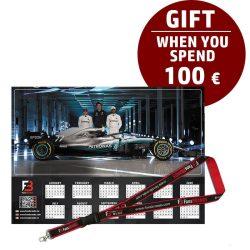 Mercedes Race calendar gift