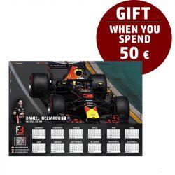 Ricciardo Race calendar gift