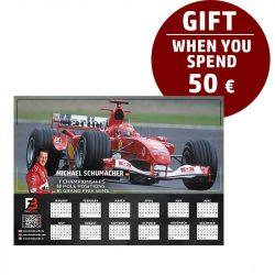 Schumacher Race calendar gift