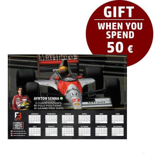 Senna Race calendar gift