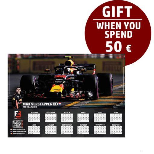 Verstappen Race calendar gift