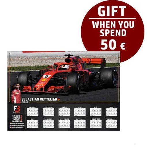 Vettel Race calendar gift