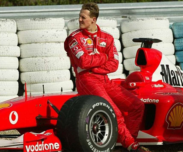 Michael Schumacher a Ferrarival