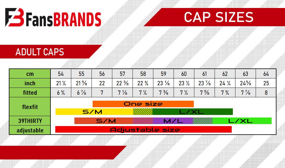 Caps size chart - FansBRANDS